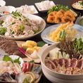 産地、鮮度にこだわり厳選した食材を使った仙台名物、創作和食が味わえる宴会コースは、最大3時間飲み放題付3,000円(税込)よりご用意しております。経験豊富な料理長が腕を揮う創作和食は、見るも美しいお料理の数々で宴の席を華やかに彩ります。仙台駅でのご宴会なら当店にお任せください。心を込めておもてなし致します。