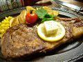 料理メニュー写真リブアイロールステーキ200g(リブロース/US産)