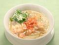 料理メニュー写真桜海老ワンタン麺