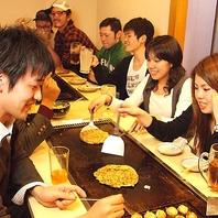 貸切もOK☆各種宴会にお得な食べ飲み放題コースもご用意