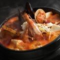 料理メニュー写真海鮮スンドゥプチゲ/牛すじスンドゥブチゲ