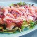 料理メニュー写真ずわい蟹と豆腐のサラダ
