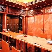 テーブル式 夜景個室