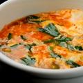 料理メニュー写真ユッケジャンスープ/野菜スープ