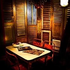 【2F】2階奥の半個室。周りが気にならず人気のお席です。