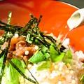 料理メニュー写真お茶漬け(梅・のり)