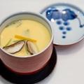料理メニュー写真赤卵の茶碗蒸し