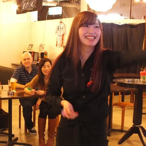 darts cafe garden SHINSAIBASHI