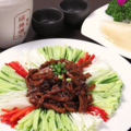 料理メニュー写真細切り肉の中華味噌炒め