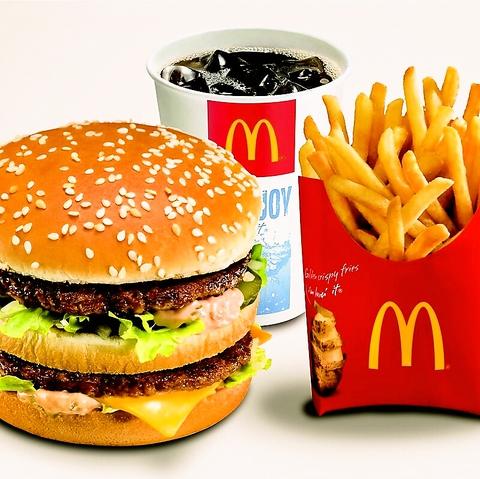 全世界の人々から愛されるハンバーガーショップ。24時間、お客様をお待ちしています☆