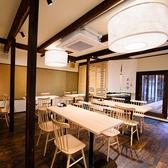 各種宴会に最適!テーブル、掘りごたつ席を利用して最大45名様のご利用も可能です。