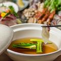 料理メニュー写真旬野菜と豪華魚介の鰤しゃぶ鍋
