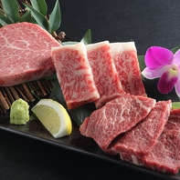 料理長厳選3種盛り!厳選したお肉を焼肉で♪