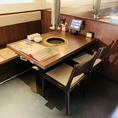 充実のテーブル席!