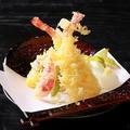 料理メニュー写真天ぷらの盛合せ