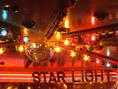 スポットライトや盛り上げる照明、ミラーボールもご用意しています!【#貸切 #歓送迎会 #同窓会 #プロジェクタ #パーティ】