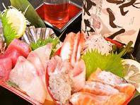 限定10食★【魚鮮刺身盛り合わせ】990円