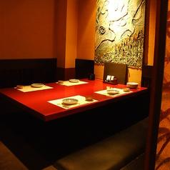 【B1階】足を伸ばしてゆったり…。神田の個室居酒屋なら番屋でご宴会・飲み放題をどうぞ。