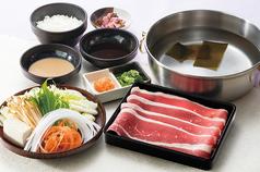 料理メニュー写真熟成牛ロース定食