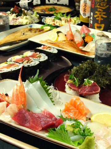 お寿司・造り・一品料理など250種類以上の豊富なメニューでお待ちしております♪