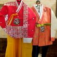 ウェディング2次会コースはお料理&飲み放題付で4000円!韓国の伝統衣装、チマチョゴリ貸し出しOK!日本では滅多に着れないチマチョゴリをテヂャングムで!