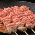 料理メニュー写真ささみ(柚子胡椒焼き/チーズ焼き/明太マヨネーズ焼き/梅しそ焼き)