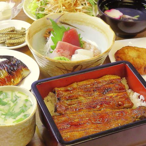 国産愛知県三河産の活け鰻の和食屋◇テイクアウト可/ランチあり/飲み放題