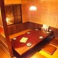 【2階】掘り炬燵個室は4部屋あり人数に応じます