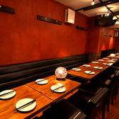 お得なコース料理を、ゆっくりとしたお席で…ゆったりとした空間を演出したお洒落な席を5室用意しております!5室とも様々なタイプな席となっているため宴会や女子会、接待や記念日・誕生日など、お客様の様々なご要望にお応えします!お問い合わせください