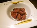 料理メニュー写真柔らか砂肝のコンフィ
