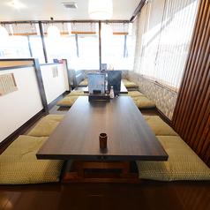 4名様でご利用頂ける座敷席を4卓ご用意しております。こちらを繋げて最大16名様でご利用いただく事も可能です★
