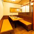 【2階】6名×2 BOXタイプのテーブル席