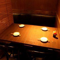 半個室:2~4名様