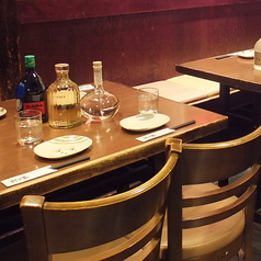 テーブル席もご用意あります。