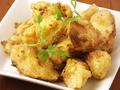 料理メニュー写真マコモ茸のスパイシー揚