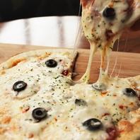 人気のクリスピーピザ