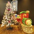 かわいらしいクリスマスの装飾♪