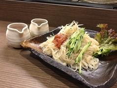 料理メニュー写真札幌梅つけ冷麺/梅冷麺/ピリ辛冷麺