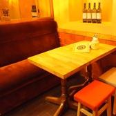 デートや女子会にオススメ★ゆったりおくつろぎ頂ける2~4名様用ソファテーブル席♪