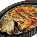 料理メニュー写真本日鮮魚一尾のウニソース焼き