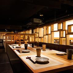 個室居酒屋 鶏っく 大阪駅前 うめきた店の雰囲気1