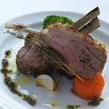 料理メニュー写真仔羊背肉のロースト