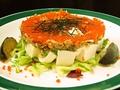 料理メニュー写真豆腐とザーサイのサラダ