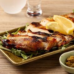 料理メニュー写真つくば地鶏の炙り焼き
