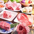 バリエーション豊富な選べる3種の食べ放題!「79種」「125種」「142種」の3コースをご用意しています。