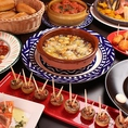 本格スペイン料理が存分に楽しめる大皿パーティープラン!