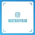 インスタグラム始めました♪「@watariya10」を是非フォローしてください!お得な情報や新メニューなどを掲載致します!