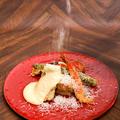 料理メニュー写真Wチーズの天ぷら ~ラクレット風~
