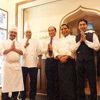 本格インド料理をお楽しみください♪