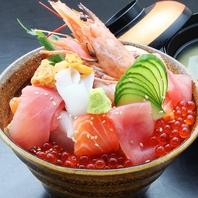 鹿児島・宮崎の中央市場から取り寄せる新鮮魚介